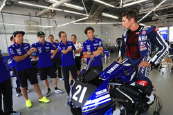 #21 Yamaha Factory Racing Team: Michael van der Mark