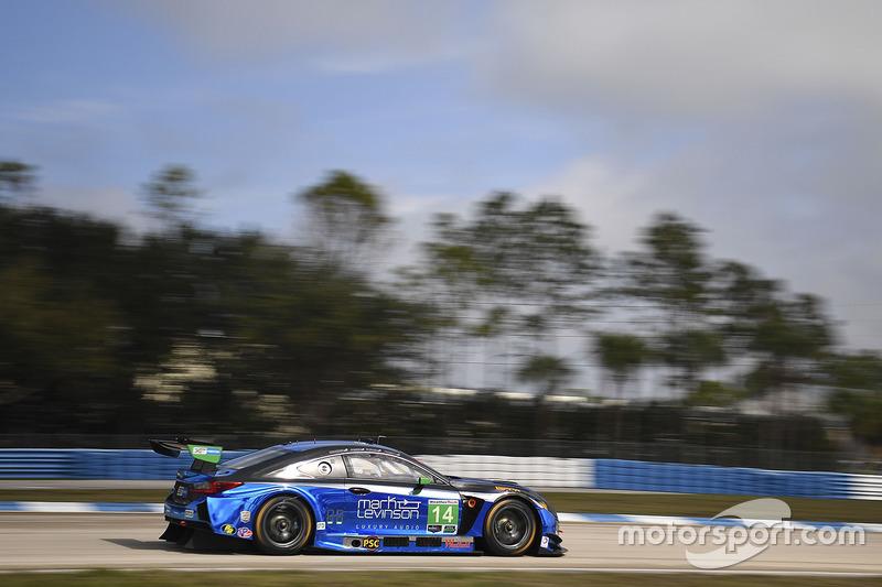 #14 3GT Racing, Lexus RCF GT3: Sage Karam, Robert Alon, Ian James