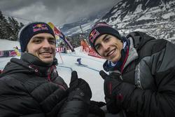 Carlos Sainz y Marc Márquez