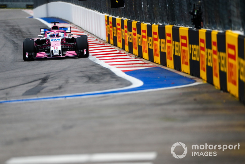 Серхіо Перес, Racing Point Force India VJM11
