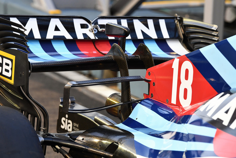 Williams FW41 rear wing