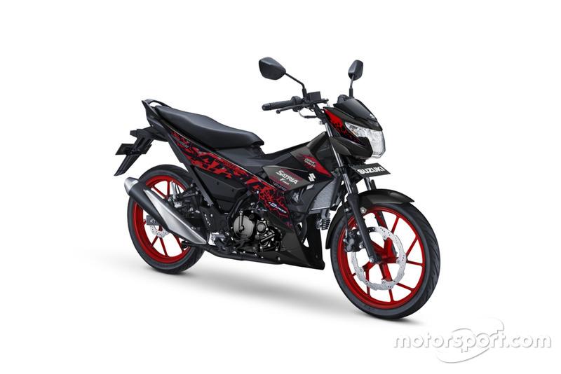 All New Satria F150 - Titan Black-Red