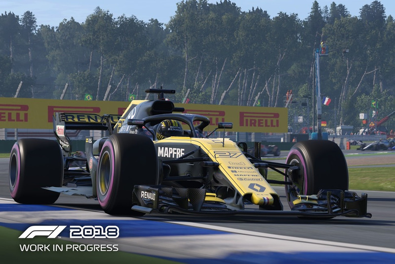 F1 2018 (PC, PS4, Xbox One)