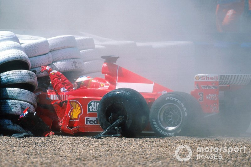 Accident de Michael Schumacher, Ferrari F399