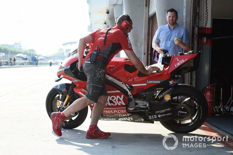 Bike details, Ducati Team