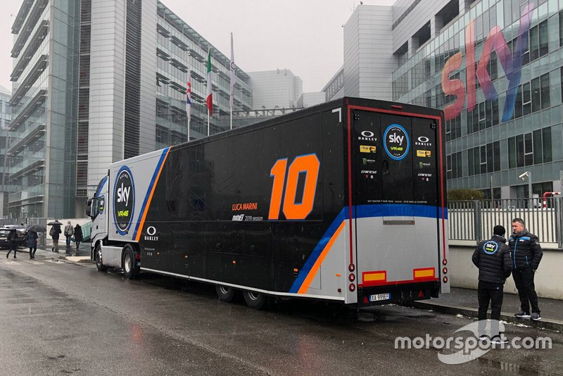 Camion dello Sky Racing Team VR46