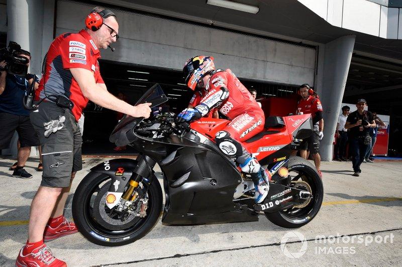 Ducati Team, nuevo carenado