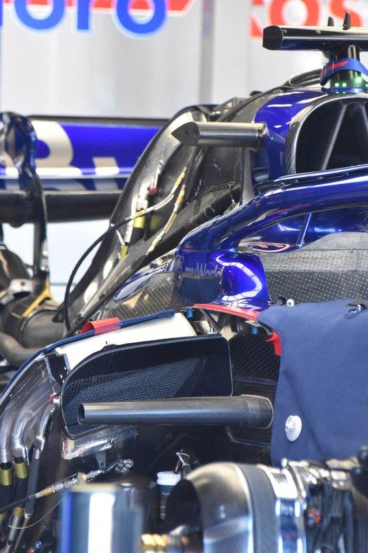 Scuderia Toro Rosso STR14 detalle de la carrocería
