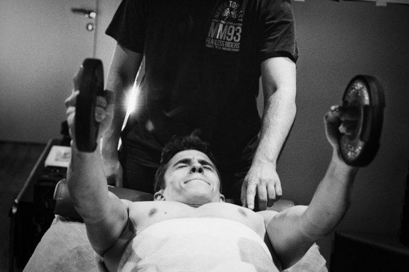 Marc Marquez rehabilitación