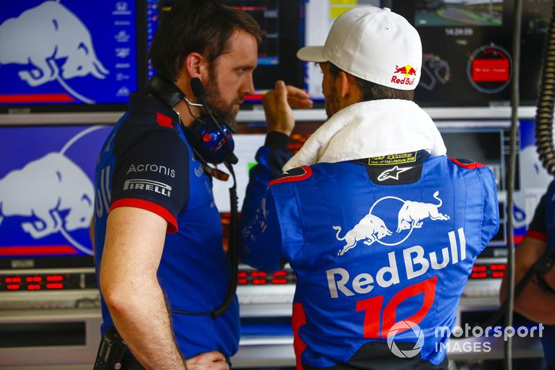 15 місце — П'єр Гаслі, Toro Rosso — 29