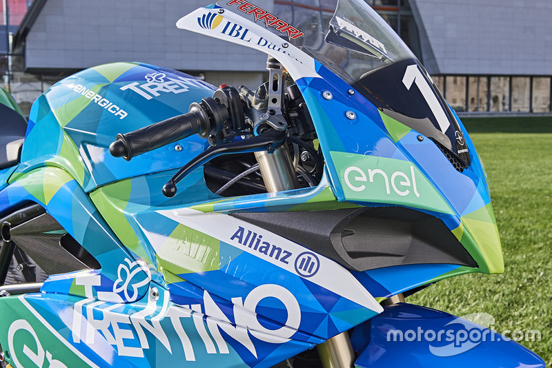 Team Gresini MotoE launch