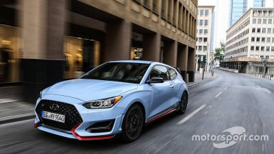 Hyundai Veloster N TCR unveil