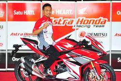 Rheza Danica Ahrens, Astra Honda Racing Team