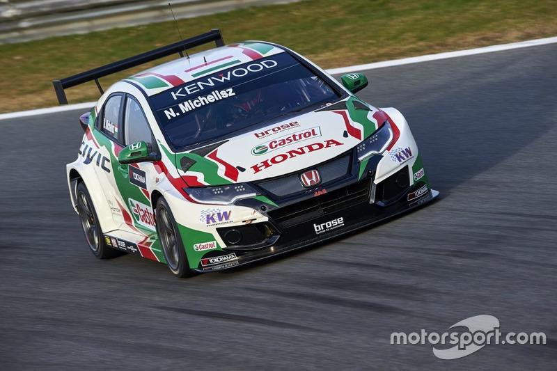 n°5 - Norbert Michelisz, Honda Racing Team JAS, Honda Civic WTCC