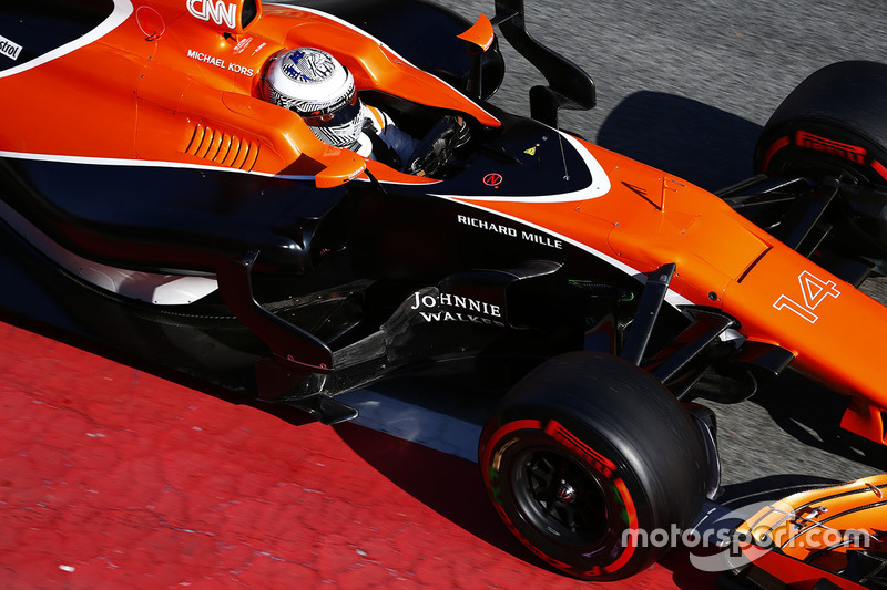 18º Fernando Alonso, McLaren MCL32, 1m21.389s (ultrablandos)