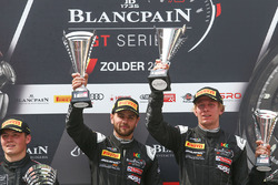 Podium Silver Cup: #42 Strakka Motorsport McLaren 650S GT3: David Fumanelli, Lewis Williamson