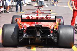 Ferrari SF70-H: Heck
