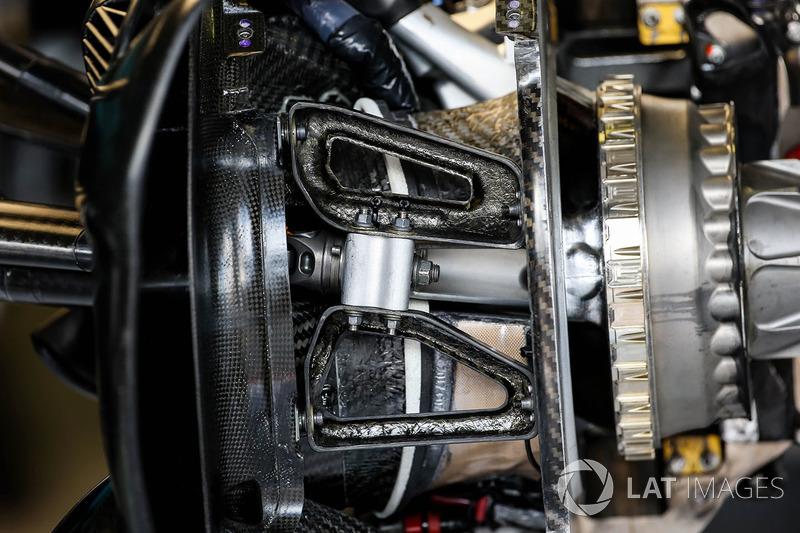 Кріплення колеса Red Bull Racing RB13