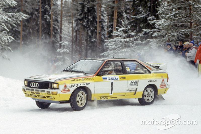 1984: Stig Blomqvist, Audi Quattro A2