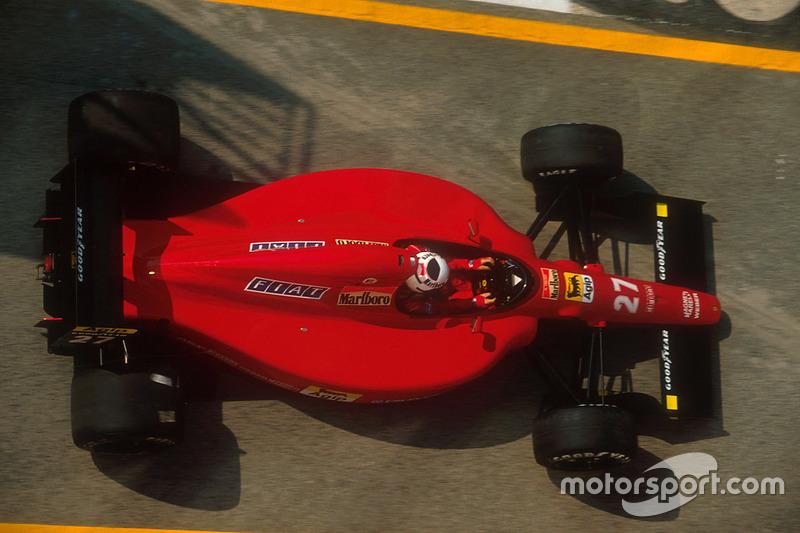 1991: Ferrari 642 (два подиума)