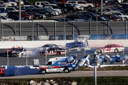 Ryan Newman, Richard Childress Racing Chevrolet, crash