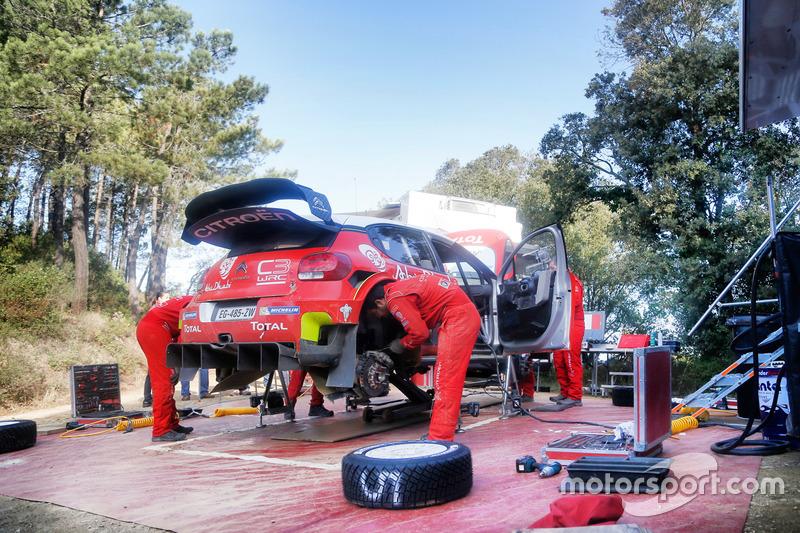 Sébastien Loeb Citroen, tesztelés