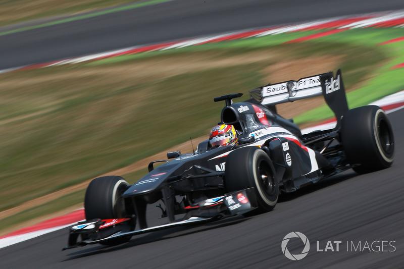 2013: Robin Frijns, Sauber C32