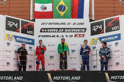 Podium: Race winner Podium: Pietro Fittipaldi, Lotus , second place Podium: Alfonso Celis Jr., Fortec Motorsport, third place Egor Orudzhev, SMP Racing by AV, Diego Menchaca, Fortec Motorsports