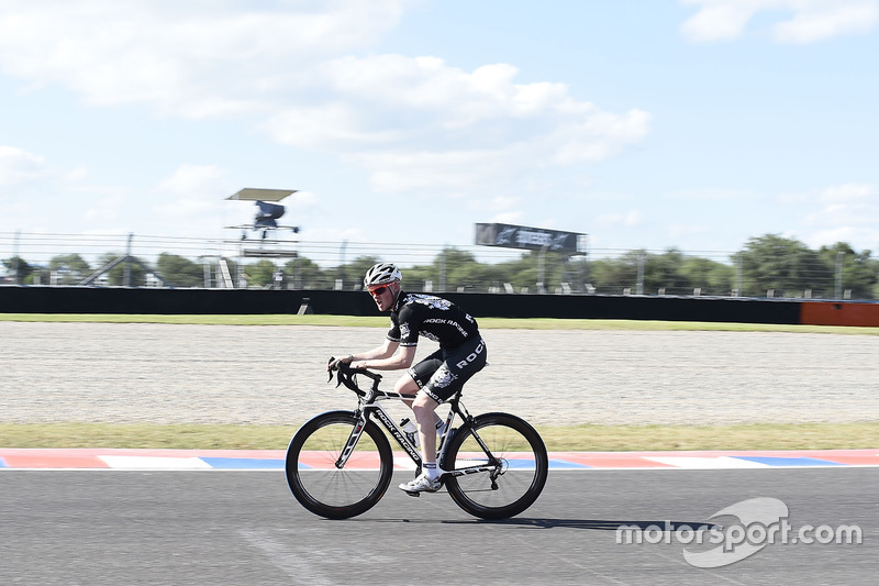Bradley Smith, Red Bull KTM Factory Racing, cycling on the track