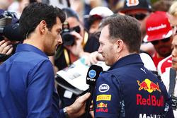 Mark Webber und Christian Horner, Red Bull Racing
