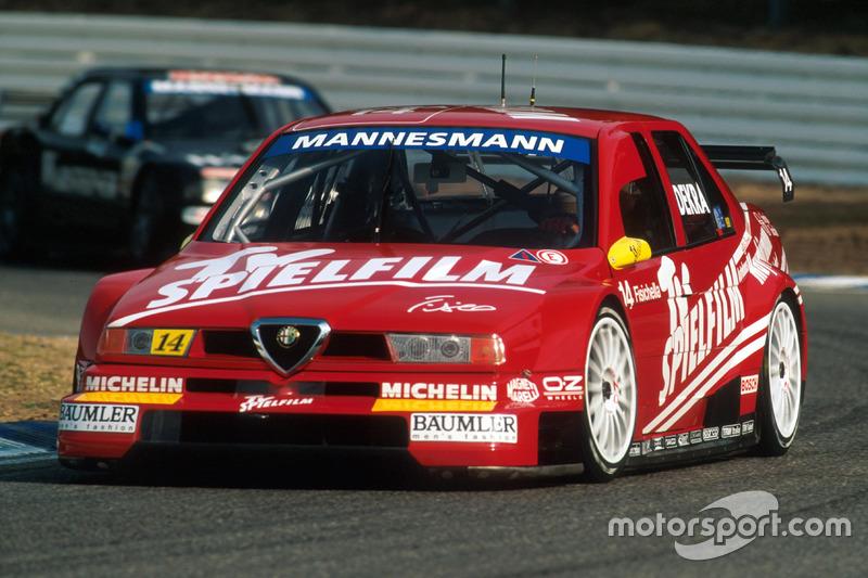 Джанкарло Фізікелла, Alfa Romeo 155 V6 Ti