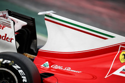 Ferrari SF70H engine cover T-Wing
