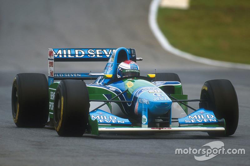 1994 – Формула 1, Benetton Ford, 10 місце