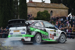 Paolo Porro, Paolo Cargnelutti, Ford Focus WRC #1