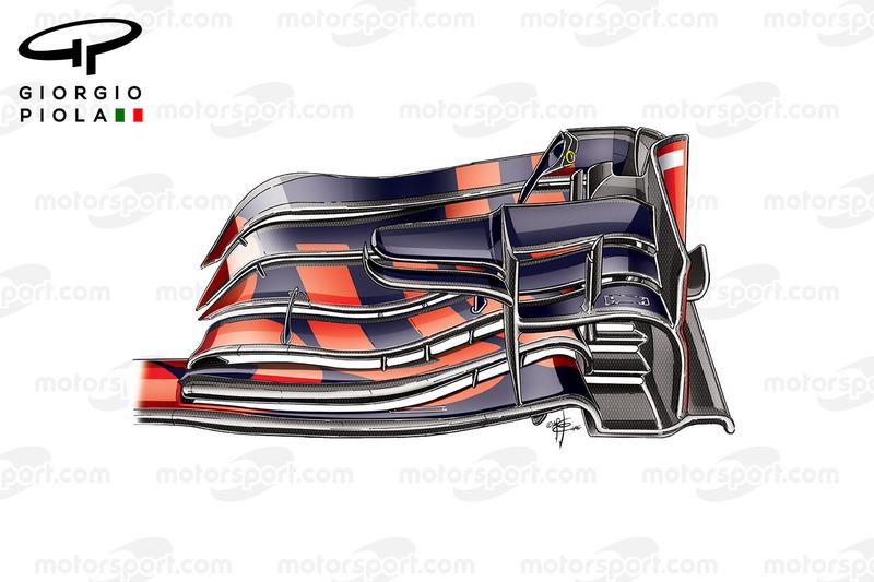 Red Bull RB12 ön kanat, Belçika GP'si