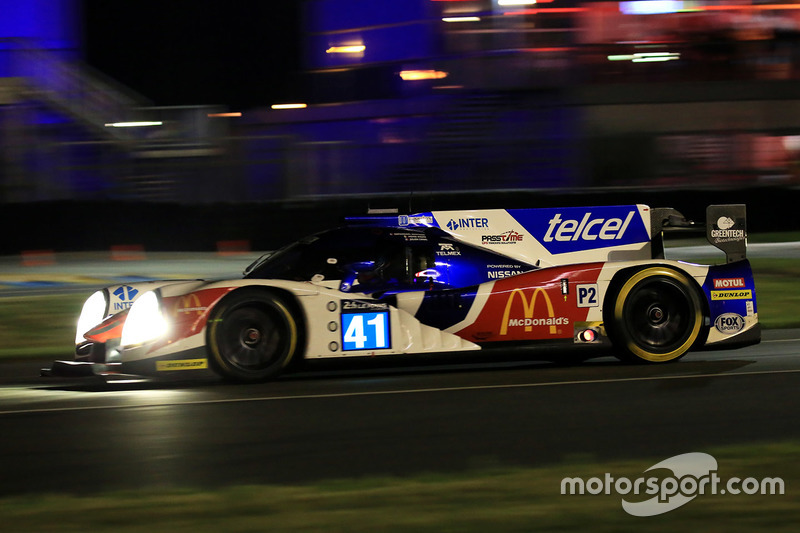 #41 Greaves Motorsport Ligier JSP2 Nissan: Мемо Рохас, Жюльєн Каналь, Натанаель Бертон