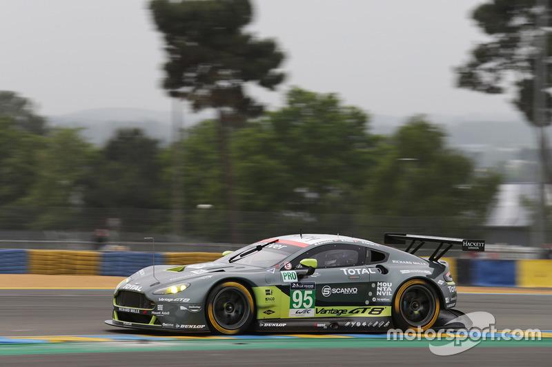 36: Aston Martin Vantage (№95): Ники Тим, Марко Сёренсен, Даррен Тёрнер