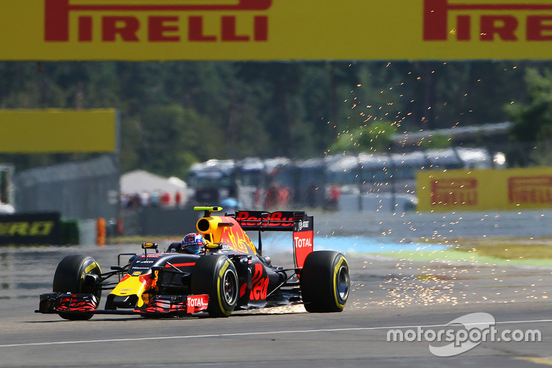 F1, Hockenheim 2016: Max Verstappen, Red Bull RB12