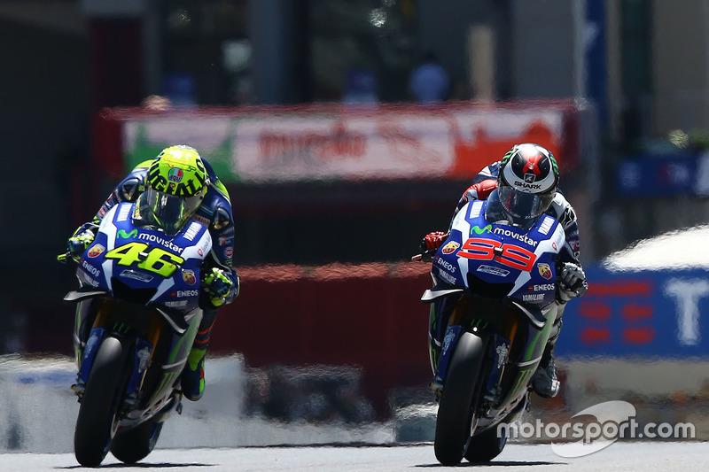 Valentino Rossi dan Jorge Lorenzo, Yamaha Factory Racing - MotoGP Italia 2016