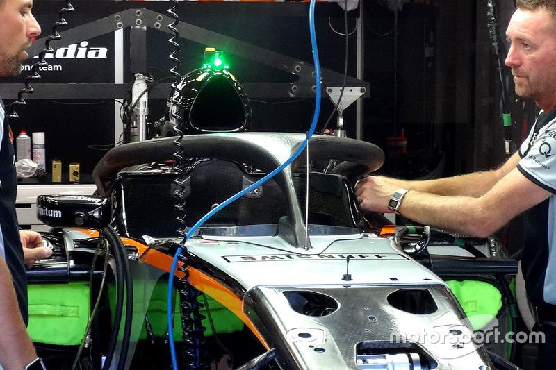 Halo cockpit, Nico Hulkenberg, Sahara Force India F1 VJM09
