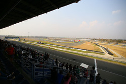 Circuit overview from the grandstands