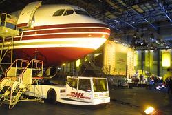 DHL Jordan Honda Lansmanı, Brüksel havalimanı