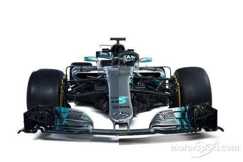 Lançamento Mercedes AMG F1 W09
