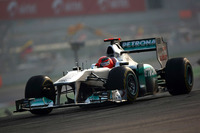 Міхаель Шумахер, Mercedes GP W02