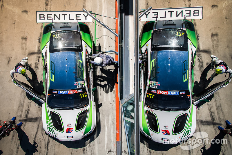 4. #17 Bentley Team M-Sport Bentley Continental GT3: Steven Kane, Guy Smith, Jules Gounon