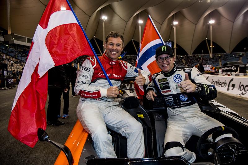 Tom Kristensen y Petter Solberg del equipo nórdico