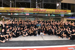 Mercedes AMG F1 team celebrations