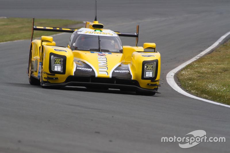 Giedo van der Garde toonde de LMP2-bolide van Racing Team Nederland