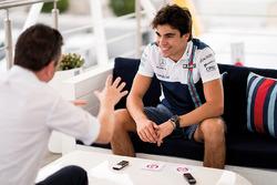 Lance Stroll, Williams durante una entrevista para F1 Racing magazine