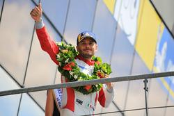 Podium du LMGTE Am : le deuxième, Giancarlo Fisichella, Spirit of Race